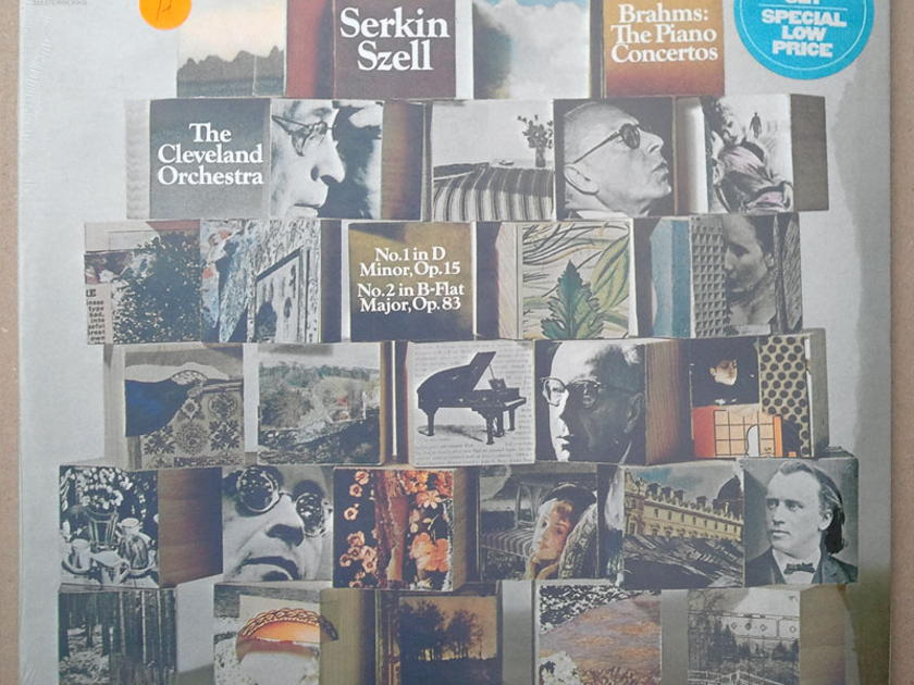 SEALED/Serkin/Szell/Brahms - Piano Concertos Nos.1 & 2  / 2-LP set
