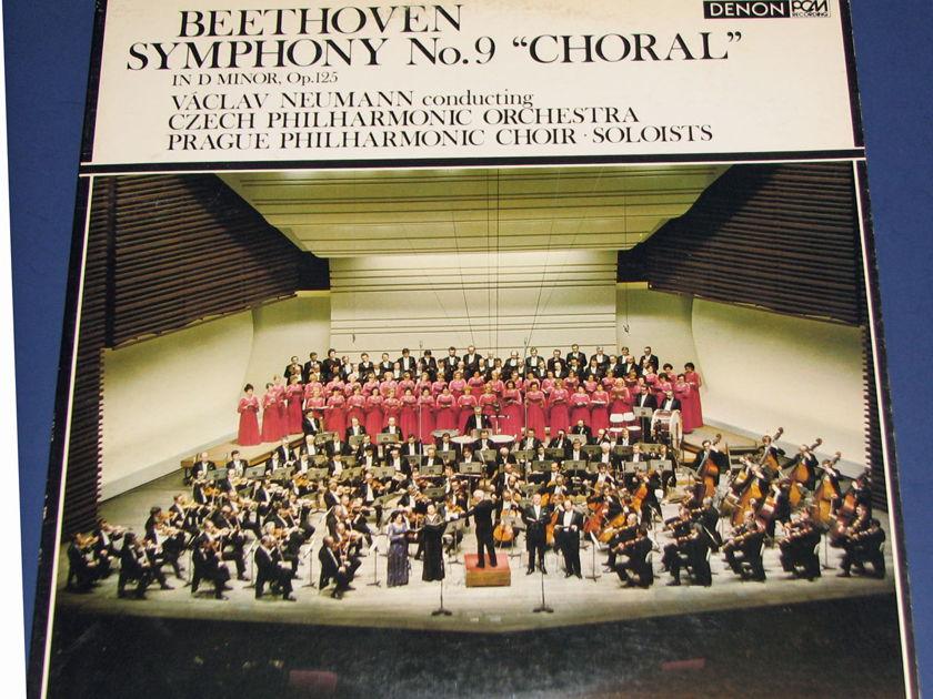 Beethoven Symphony 9 - Denon PCM Audiophile Recording  Japanese Pressing Near Mint