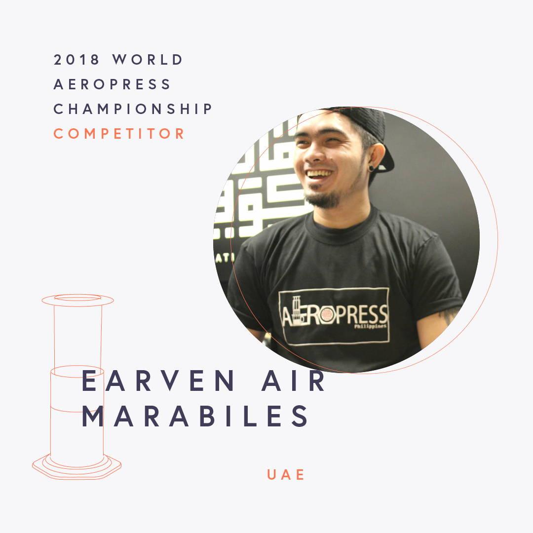 The World AeroPress Championships: Earven Air Marabiles