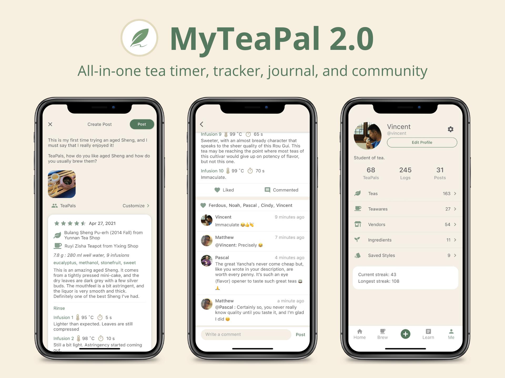 myteapal 2.0 cover