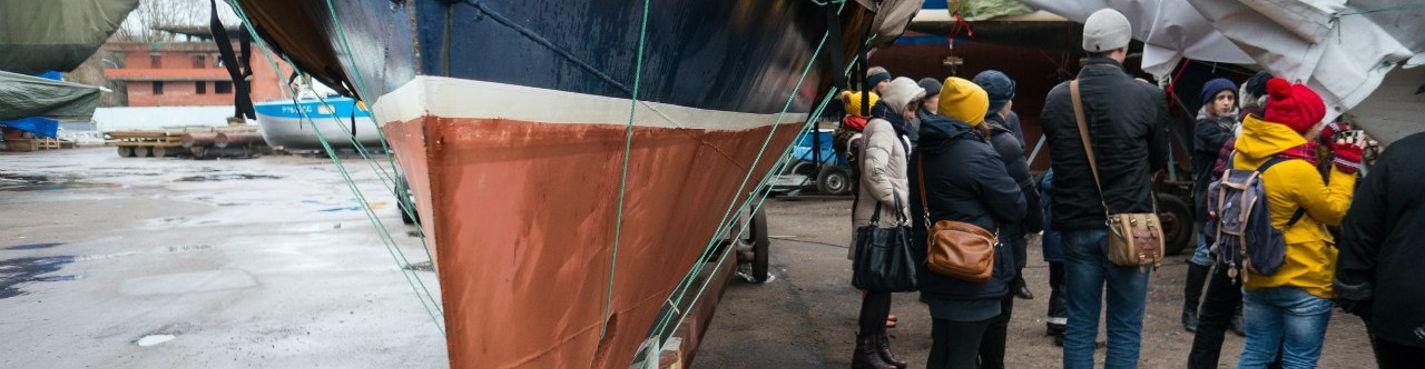 Бесплатная экскурсия в Санкт-Петербургский Речной яхт-клуб