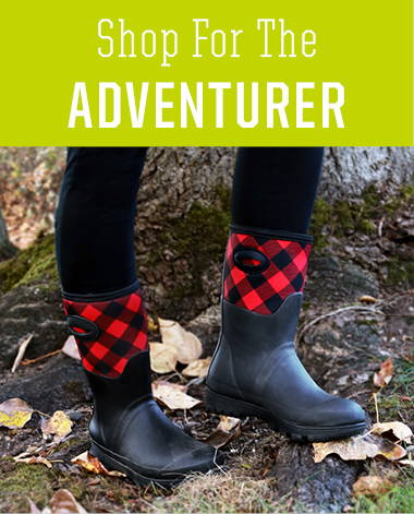 Shop holiday gifts for the adventurer in your life. Featuring women's neoprene boots and rain boots.