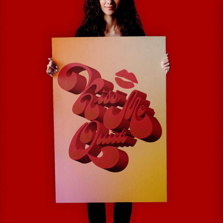 Tania Hearn lettering designer Gold Coast — custom typography