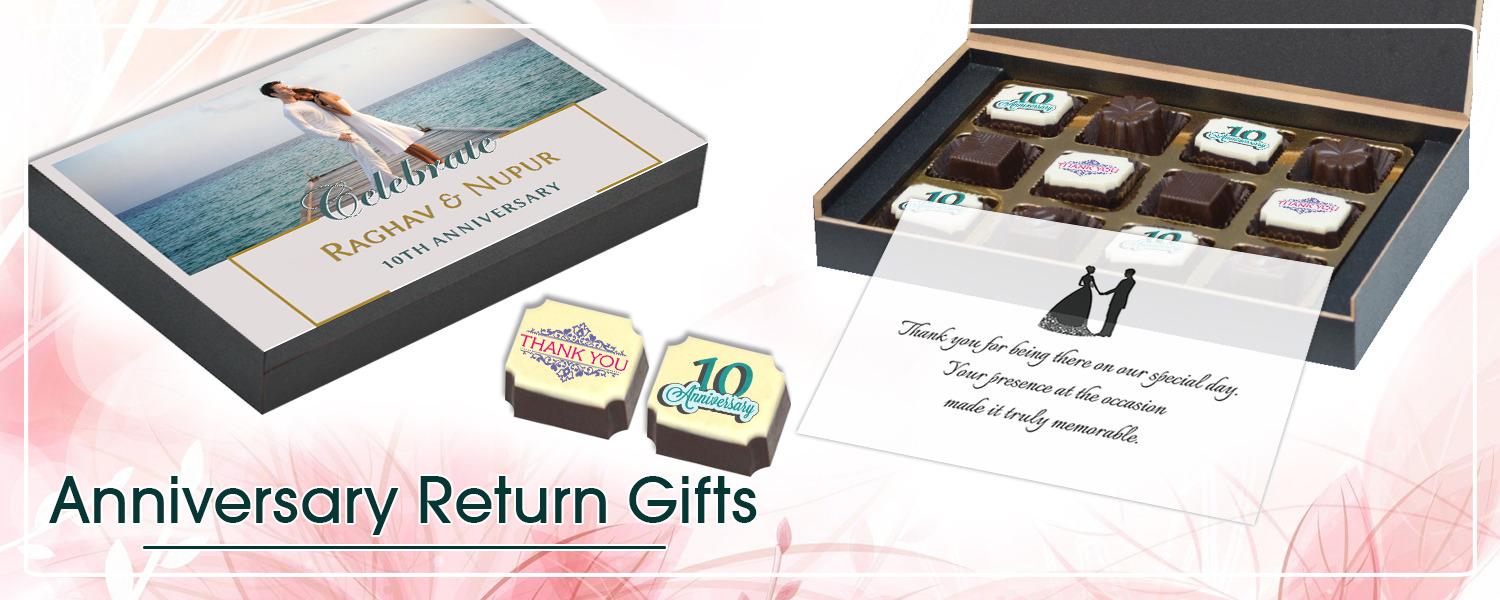 ChocoCraft Brings You A Collection Of Specially Crafted Anniversary Return Gifts For Your Guests