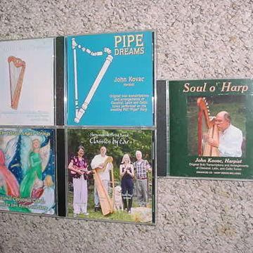 Harpist,folk harp,sacred harp music,