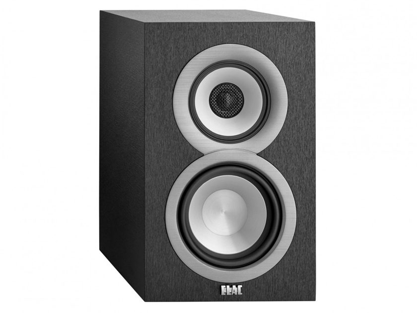 Elac Uni-Fi B5 Bookshelf speakers.