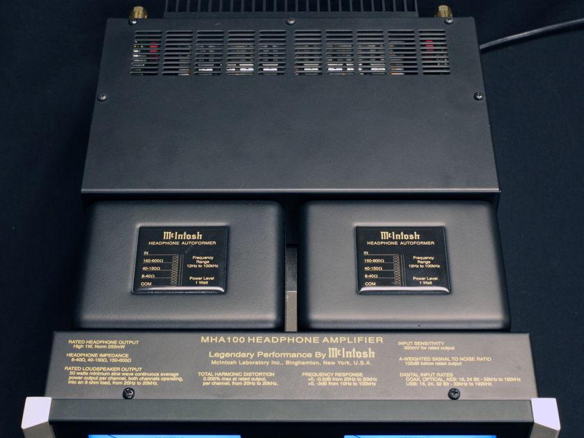 McIntosh MHA-100 Headphone Amplifier