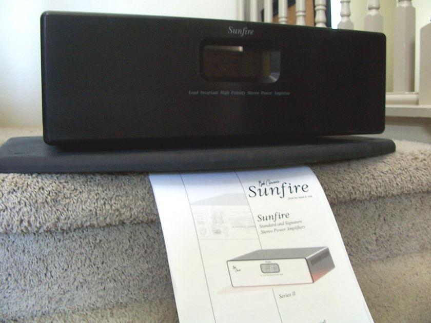 Sunfire Standard Series 2   Free Shipping!!!