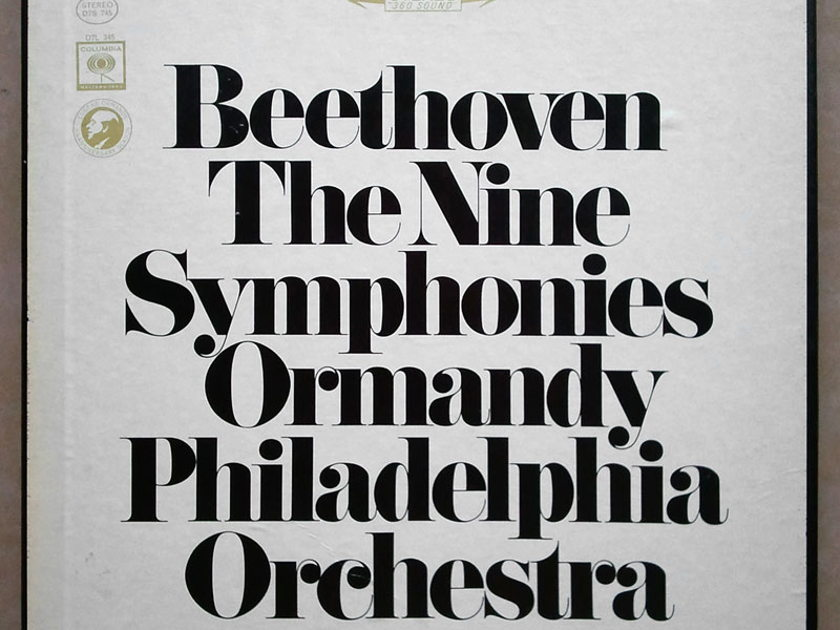 COLUMBIA | ORMANDY/BEETHOVEN - The Nine Symphonies / 7-LP / NM