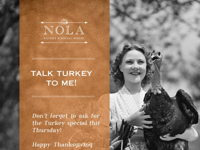 TALK TURKEY TO ME image