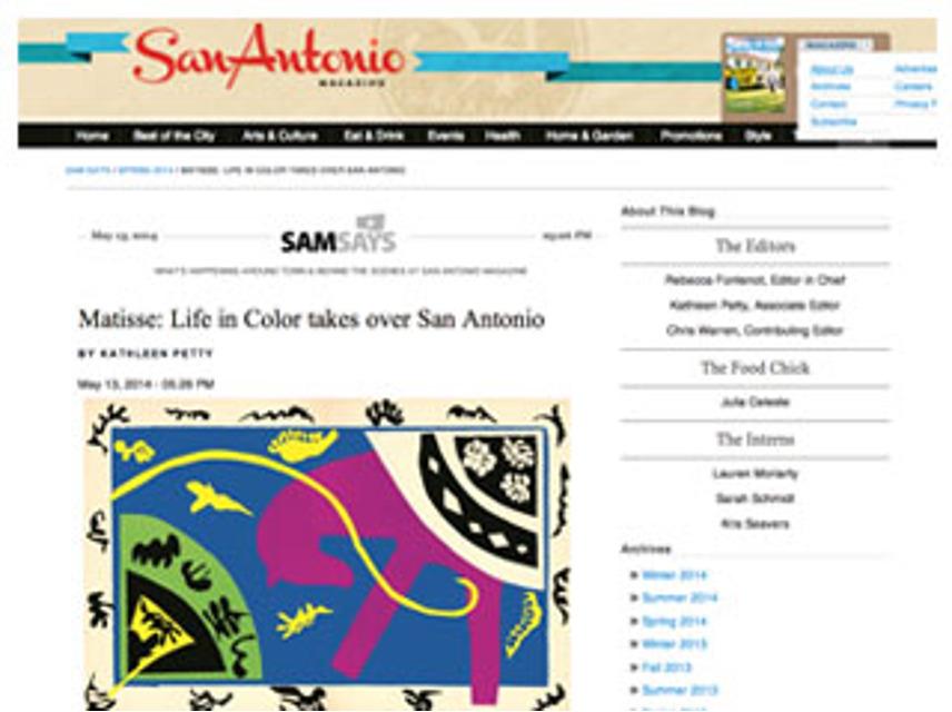 Matisse, SA Mag