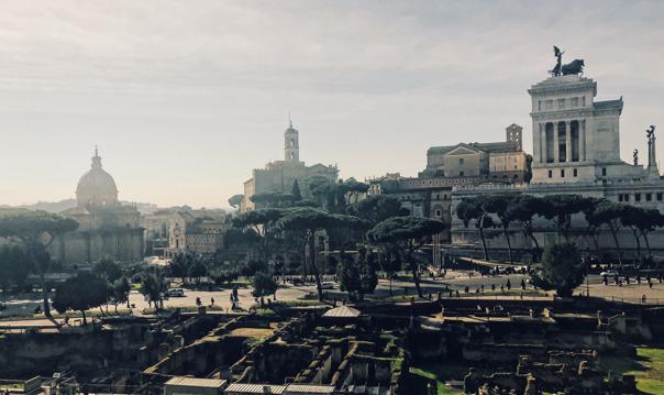 Знакомство с Вечным городом