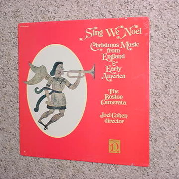 Sing we Noel Christmas music from England