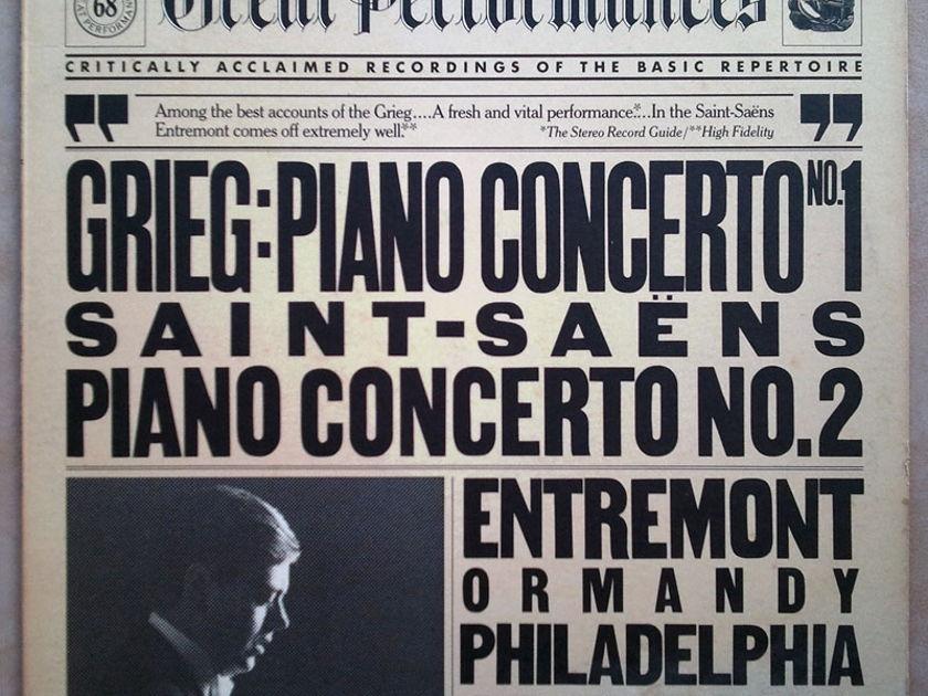 CBS/Entremont/Grieg & - Saint-Saens Piano Concertos / NM