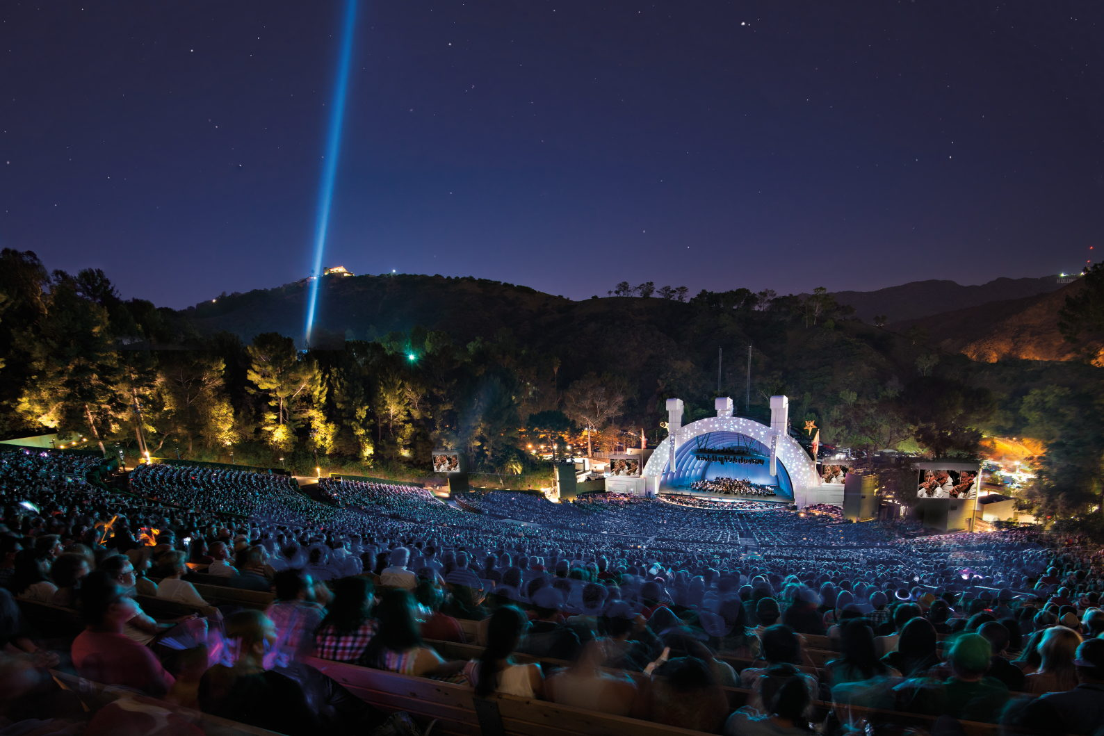 Hollywood Bowl Concerts >> The Hollywood Bowl