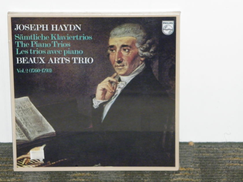 "Beaux Arts Trio - Josef Haydn ""The Piano Trios"" Vol 2 (1760-1793) Philips Import Pressing 6747 414 5LP box STILL SEALED/ NEW"