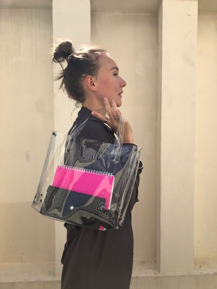 "Прозрачная сумка ""Lady"""