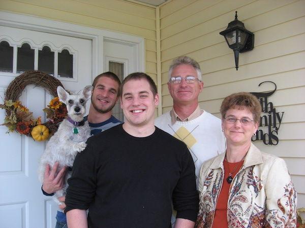 Tom Mellish Family