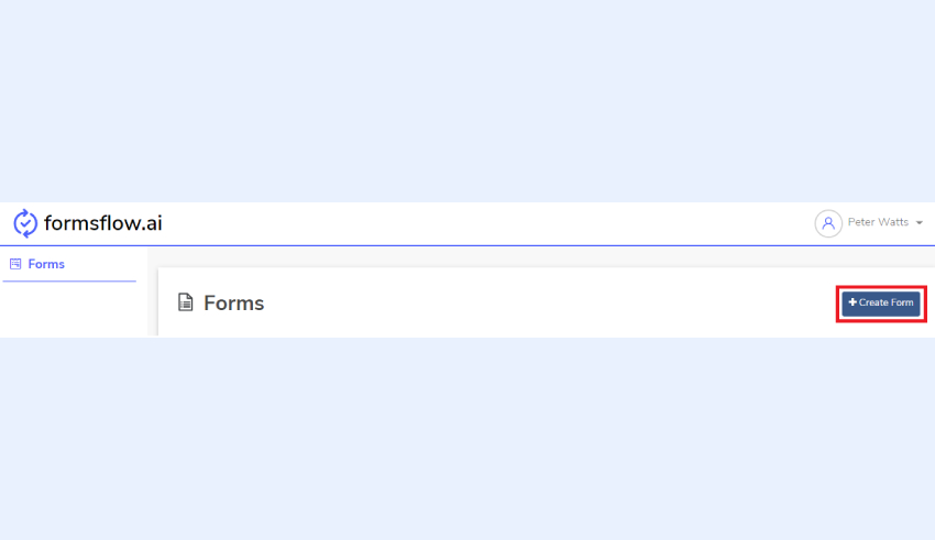 Create form