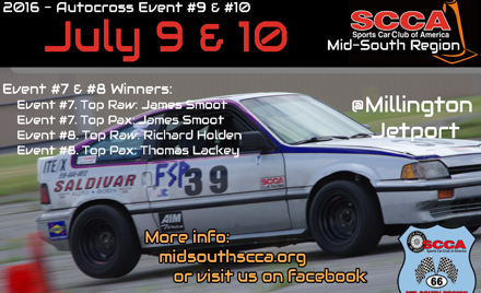 Mid-South Regional Solo Event Weekend 5