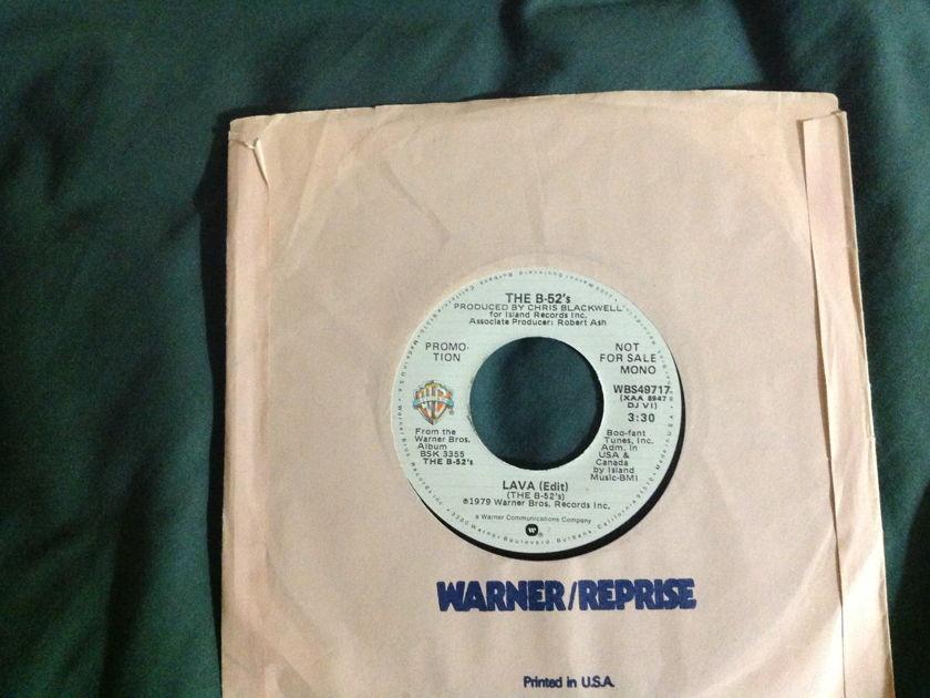 """The B-52""""s - Lava(Edit) Promo 45 Mono Stereo"""