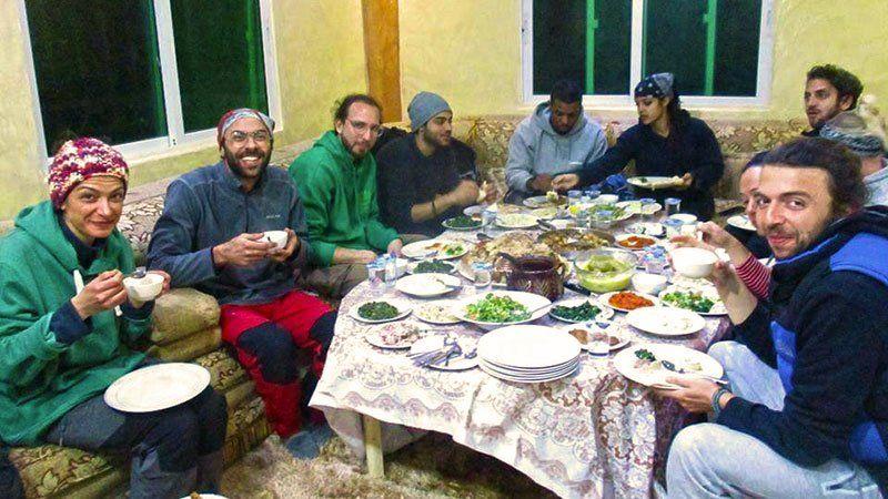 Rasoun homestay, Jordan