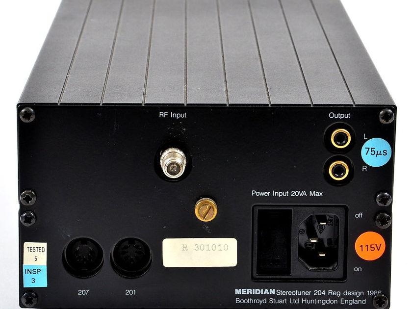 Meridian 204 FM Stereo Tuner