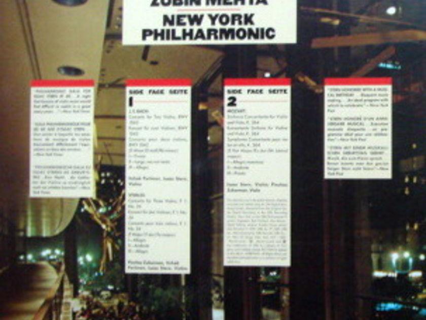 "★Audiophile★ CBS / ISAAC STERN - 60th Anniversary Celebration Album, 7"" Bonus LP, MINT, Promo Copy!"