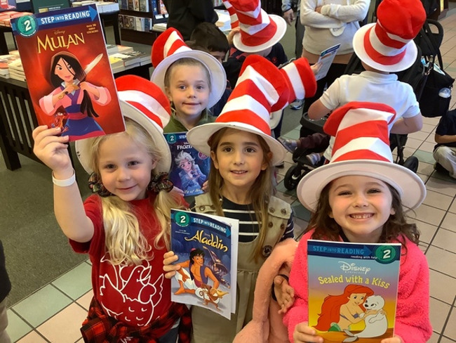 "Celebrating ""Read Across America"" at Barnes & Noble!!!"
