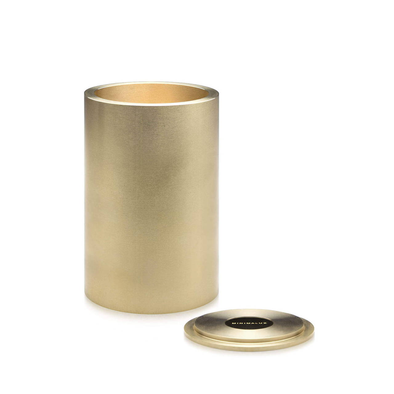 Brass Pot 90 with Lid off