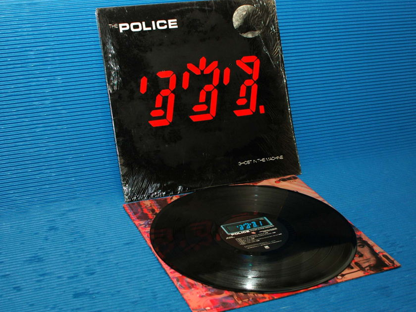 """THE POLICE - - """"Ghost in the Machine"""" -  A&M Records 1981 hot stamper"""
