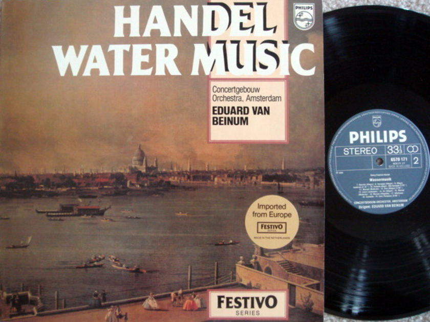 Philips / VAN BEINUM, - Handel Water Music, NM!