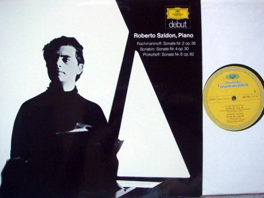 DGG / ROBERTO SZIDON, - Rachmaninoff Piano Sonata No.2, NM!