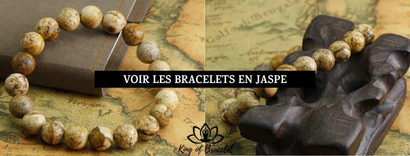 Bracelet Jaspe Brun - King of Bracelet