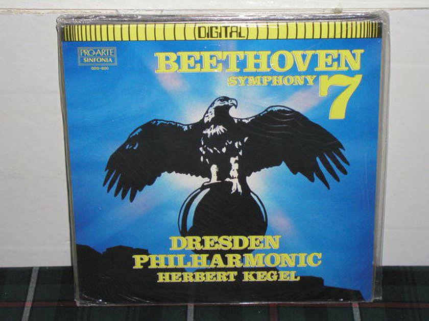 Kegel/DPO - Beethoven Nr.7 PRO-ARTE SEALED LP