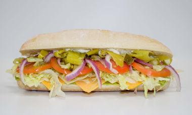 Big Star Sandwich Cheddar,Swiss,Guacamole