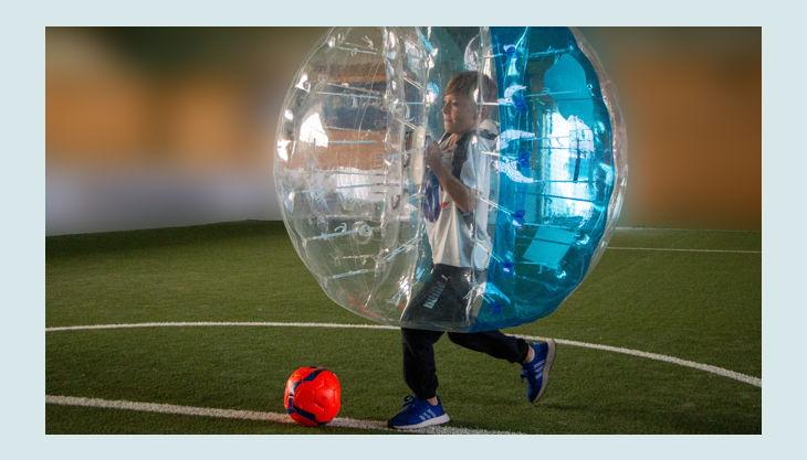 mister bubble blaue kugel