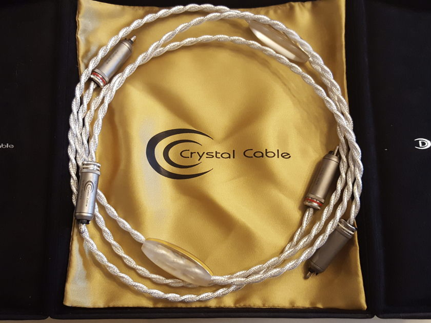 Crystal Cable  Dreamline Interconnects : State Of The Art Cables - Trades Considered