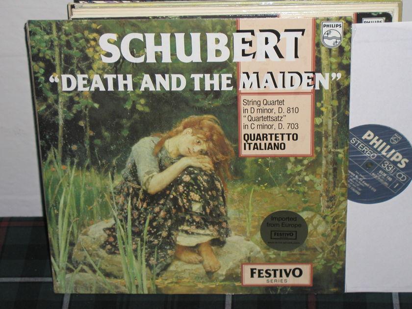 Quartetto Itialiano - Schubert Death Philips Import pressing 6570