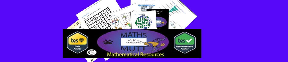 Maths Mutt Mathematical Resources