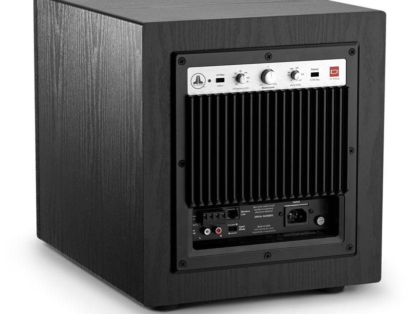 JL Audio d110 Dominion Series 750 Watt Powered Sub-woofer