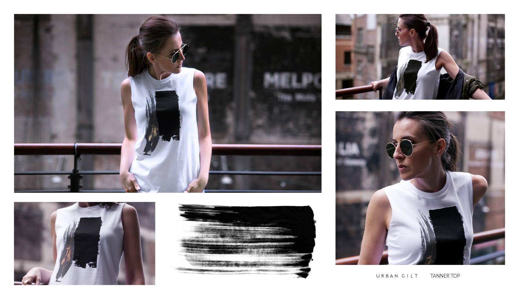 Urban Gilt Lookbook | Urban Textures | Tanner Top