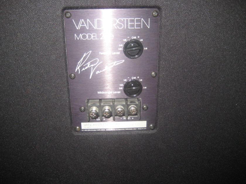 Vandersteen 2CE Signature Nice with stands