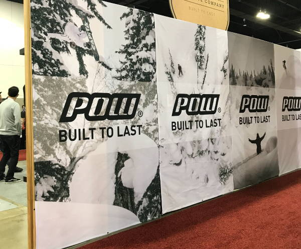 Signs & Banners - POW Trade Show Wall Wraps