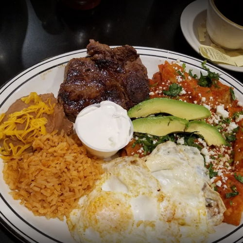 Picture of Howard's Charro Cafe has online ordering, delivery and daily specials.