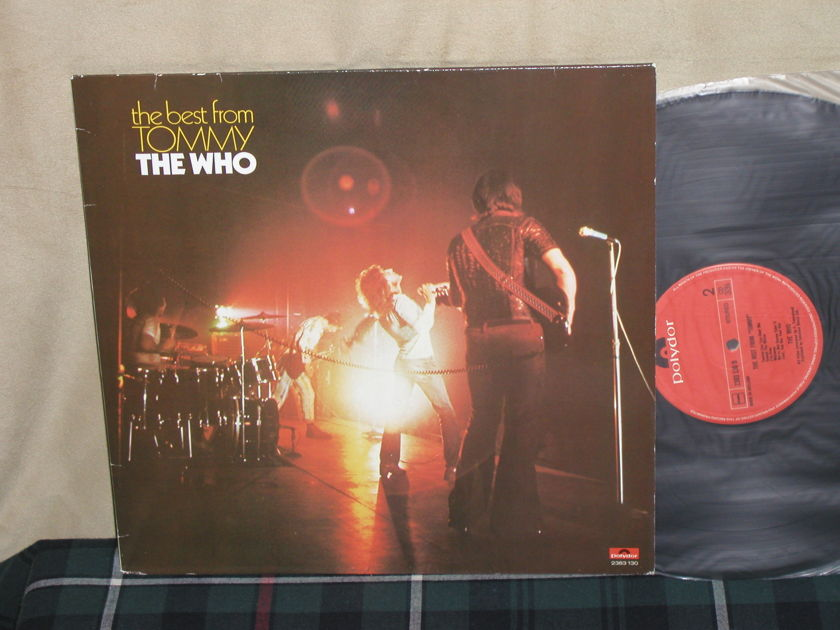 "The Who - ""Best From Tommy"" UK Import Ploydor 2383 130"