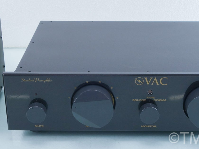 VAC Standard LE Stereo Tube Preamplifier; MM Phono (9571)