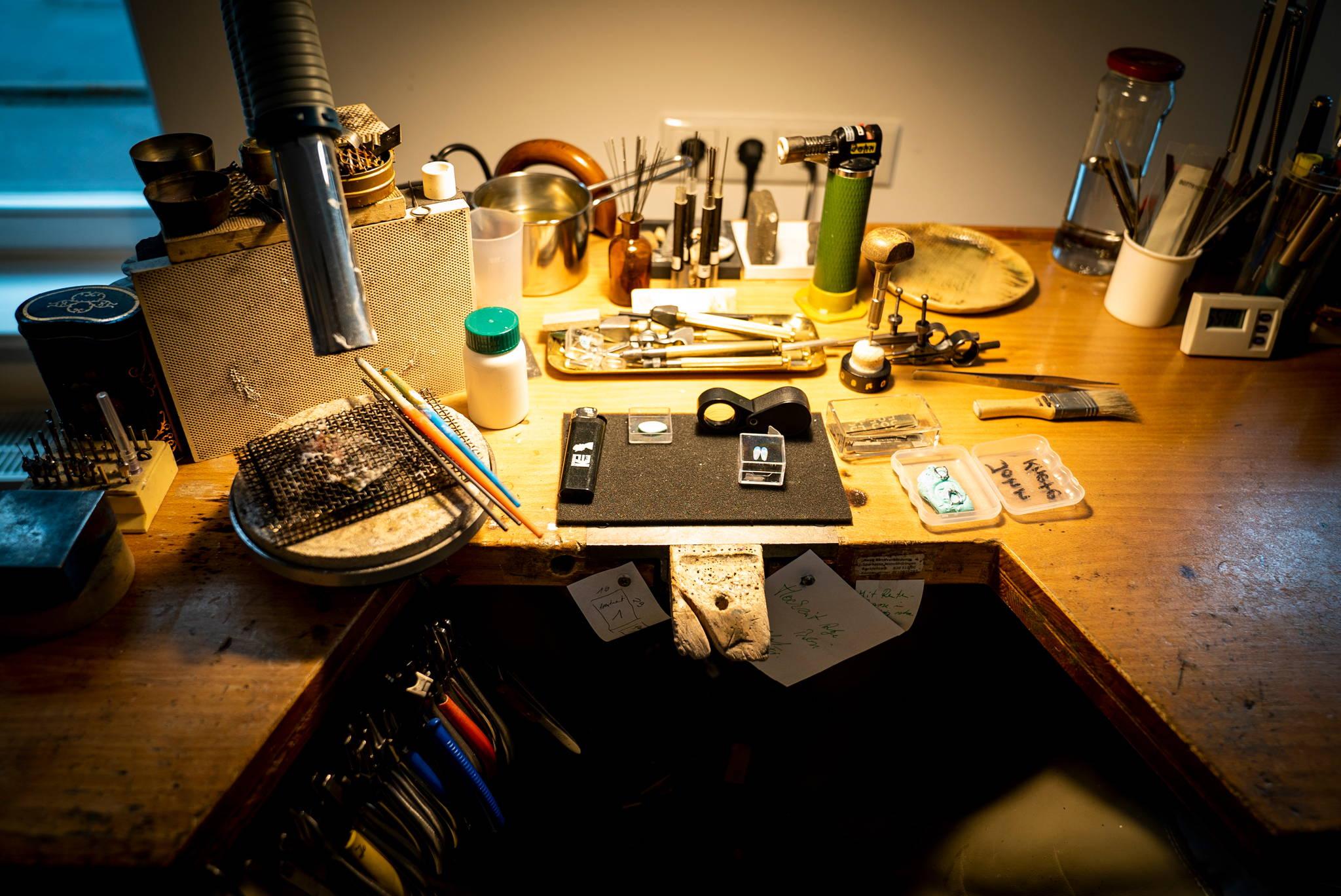 Werkstatt Calissi Bild von Tim Brendel
