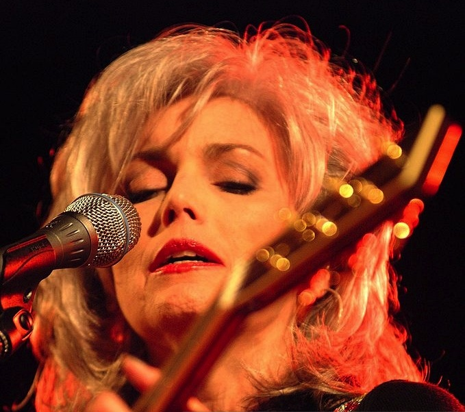 Emmylou Harris live at The Ford in 2001. <br> Photo courtesy of Sherry Rayn