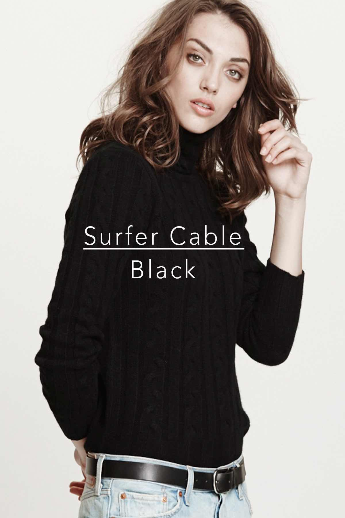 Surfer Cable Black
